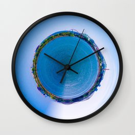 Montreal City litlle planet Wall Clock