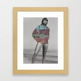 "278 - ""my winter wonderland"" Framed Art Print"