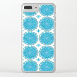 Radial Whir Clear iPhone Case
