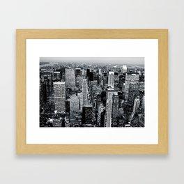 NYC - Big Apple Framed Art Print