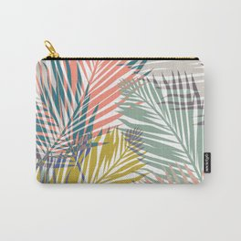 Pop Tropical Botanical Print Carry-All Pouch