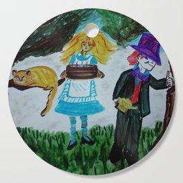 Alice, Happy Birthday Lewis Carroll Cutting Board