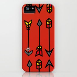 The summer arrows iPhone Case