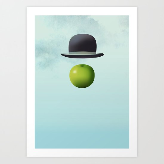 Apple 14 Art Print
