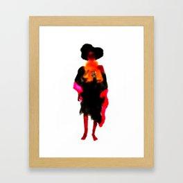 Any Woman Framed Art Print