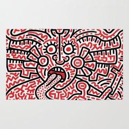 Keith Haring Rug