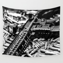 AR-15 Rifle Wall Tapestry