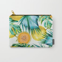 Leaf and melon pattern Carry-All Pouch