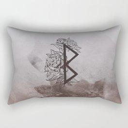 Growth Rune Rectangular Pillow