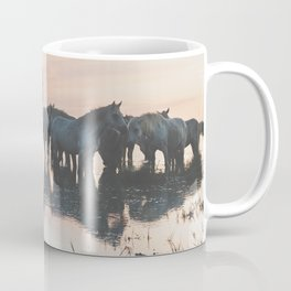 Camargue Horses I ... Coffee Mug