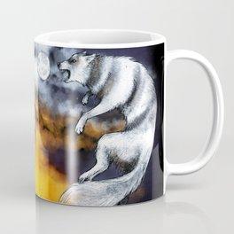 Hati and Skoll Coffee Mug