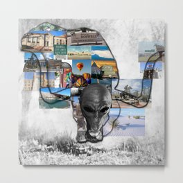 The Life of Roswell Metal Print