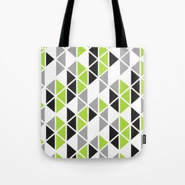 Triangular Vitrail Mosaic Pattern V.07 Tote Bag