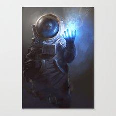 Astronaut Wizard Canvas Print