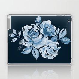 Country Rose on Indigo Laptop & iPad Skin