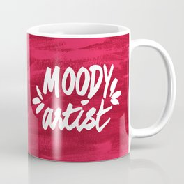 Moody Artist Magenta Coffee Mug