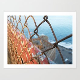 Inside Outside Fort Point Art Print