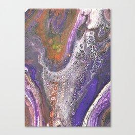 Fluid Art 9 Canvas Print