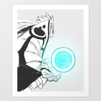 naruto Art Prints featuring Naruto by Iotara