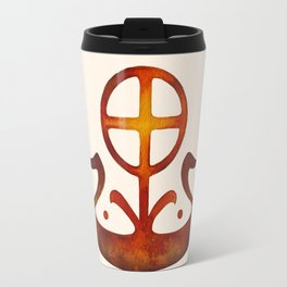 Summer Solstice - Solar Wheel Boat Travel Mug