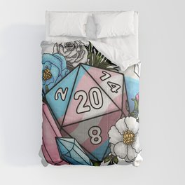 Pride Transgender D20 Tabletop RPG Gaming Dice Comforters