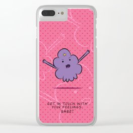 Lumpy Space Princess (LSP) Clear iPhone Case