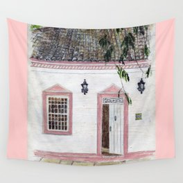 House in Pirenópolis Wall Tapestry