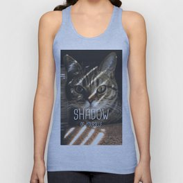 Cat - Shadow of yourself Unisex Tank Top