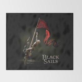 Black Sails Throw Blanket