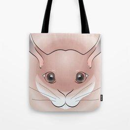 2D Rabbit 1a Tote Bag