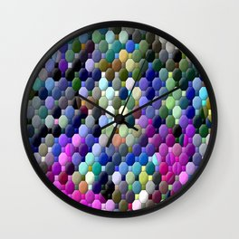 Partyin' with colors... Wall Clock