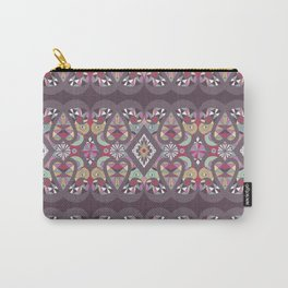 Seamless lacy lace pattern background Carry-All Pouch