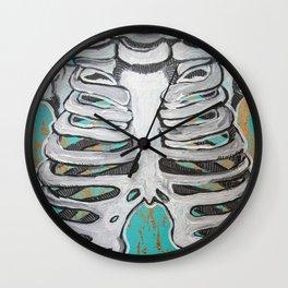 Rib Cage Wall Clock