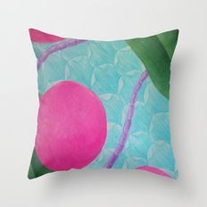 Earth Splitter Throw Pillow