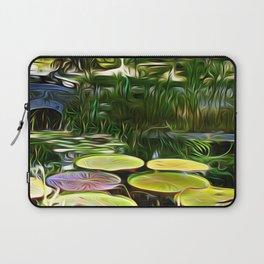 Greenery Pond Laptop Sleeve