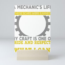 A Mechanics Life Mini Art Print