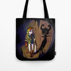 Link and the Imp Tote Bag