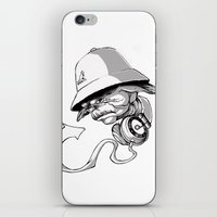hip hop iPhone & iPod Skins featuring Life, Hip-Hop is! by Maddpenciler