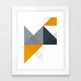 Modern Geometric 19/2 Framed Art Print