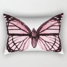 Monarch Butterfly Pink Dream Rectangular Pillow