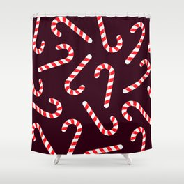 Candy Canes! Shower Curtain