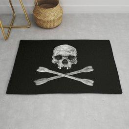 Jolly Roger Banner Rug