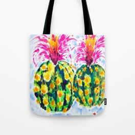Crazy Hair Day Cactus Tote Bag