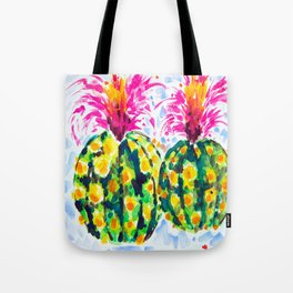 Crazy Hair Day Cactus Tote Bag