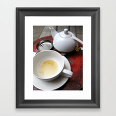 Paris Café Framed Art Print
