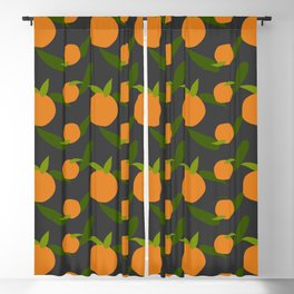 Mangoes in the dark Blackout Curtain