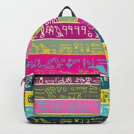 Egyptian hieroglyphs No2 Backpack