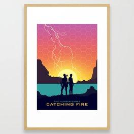Catching Fire (Dawn Version) Framed Art Print