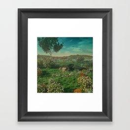 NAP FIELD (everyday 01.24.18) Framed Art Print