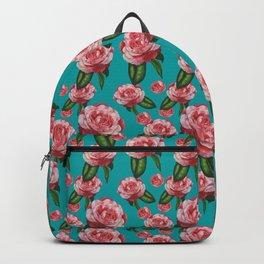 Japanese camellia Backpack
